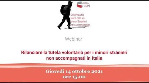 Embedded thumbnail for Rilanciare la tutela volontaria per i minori stranieri non accompagnati in Italia