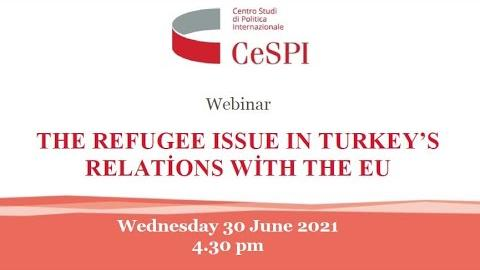 Embedded thumbnail for The refugee issue in Turkey's relations with the Eu